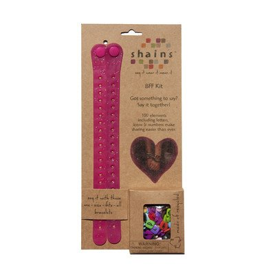 Shainsware Shains BFF Kit with 100 Elements, Cherry