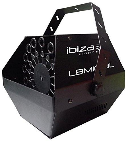 20 opinioni per Ibiza LBM10-BK Macchina per bolle di sapone, nero