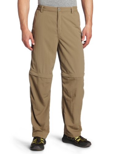 UPC 757278281159, White Sierra Men's Sierra Point Convertible Pants (32-Inch Inseam) (Bark, Medium)