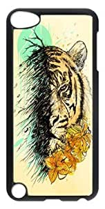 Ultraslim Fit Case with Abstract Painting Art Custom Plastic and TPU Back Case for ipod touch 5 5th Generation by heywan