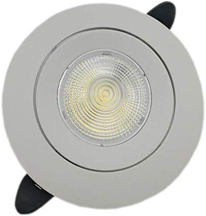 CYZMONI COB Ultra-thin Spotlight LED Downlight Ceiling Light Spotlight 5W 10W 18W Living Room Hotel Downlight Lamps Embedded Integrated Downlight Flush Commercial Lighting Highlight Spotlight