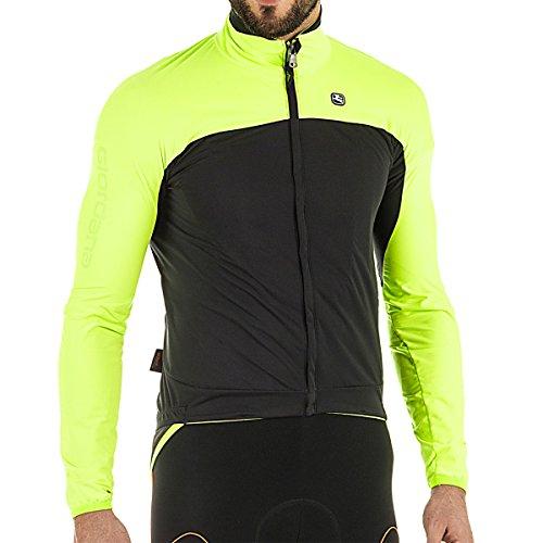 カセットブラジャーレトルトGiordana 2017 /18 Men 's Aqua Vento 100 h20サイクリングジャケット – gicw16-jckt-1h20
