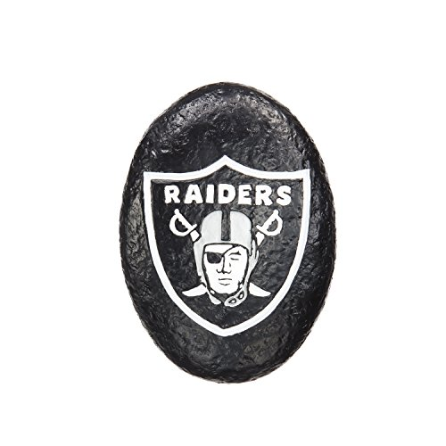 - Team Sports America Oakland Raiders Your Team Rocks Team Logo Garden Rock