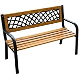 """Outsunny 47"""" Modern Outdoor Patio Garden Park Bench"""