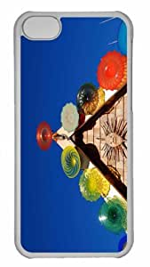Customized iphone 5C PC Transparent Case - West Coaster 2 Personalized Cover