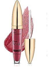 Langdurige vloeibare lippenstift Matte Glitter Flip Lipstick Lipgloss Non Stick Cup Lip Makeup Cosmetic voor vrouwen