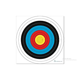 Archery Targets Face 122 cm | Bow and Arrow Targets for Shooting Archery | Accessories Ideal for Match and Daily…