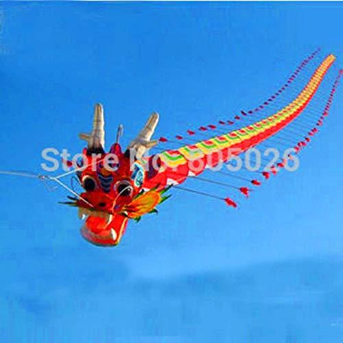 AMLJM 高品質 7M 中国伝統 ドラゴンカイト 中国カイトデザイン 装飾 カイト ワイ カイト ファクトリー おもちゃ B07QXPRH6G