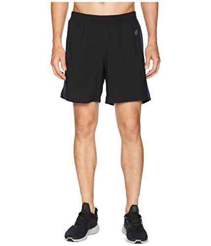 adidas Men's Running Response Shorts, Black/Noble Indigo, Sm
