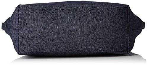 Tommy Hilfiger Poppy Tote Denim - Borse Donna, Blau (Denim), 14x32x47 cm (L x H D)