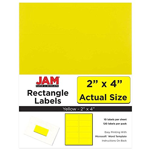 JAM Paper Mailing Address Labels - Medium - 2