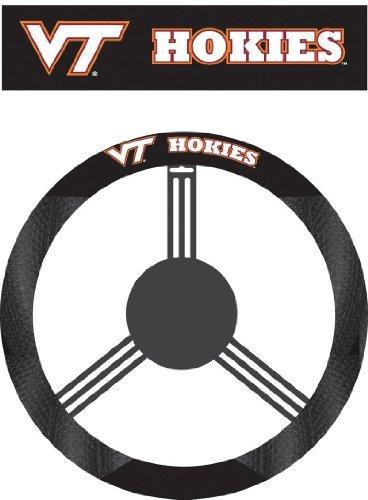 NCAA Virginia Tech Hokies Poly-Suede Steering Wheel Cover