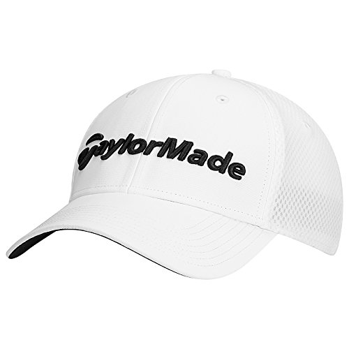 TaylorMade Golf 2017 performance cage hat white l/xl