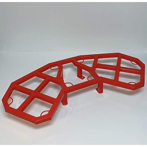 Wild Boar ATV Parts Can-am Renegade 500/570/800/850/1000 Rear Rack (Can-Am Red) 3167
