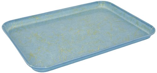 (Carlisle 1318DFG031 Fiberglass Glasteel Decorative Display/Bakery Tray, 17.75