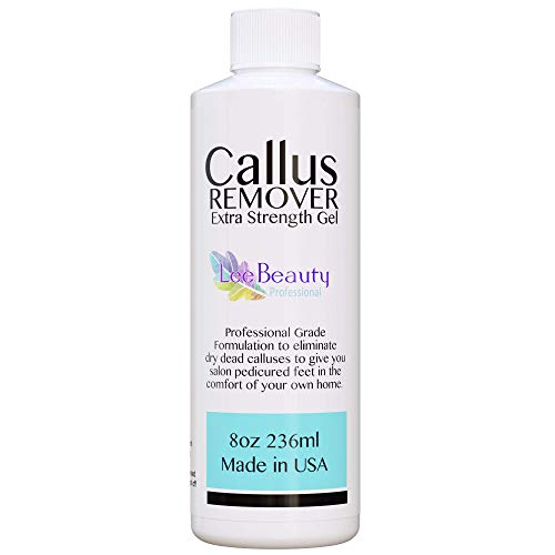 8oz Callus Remover gel for feet for a professional pedicure. Better results than