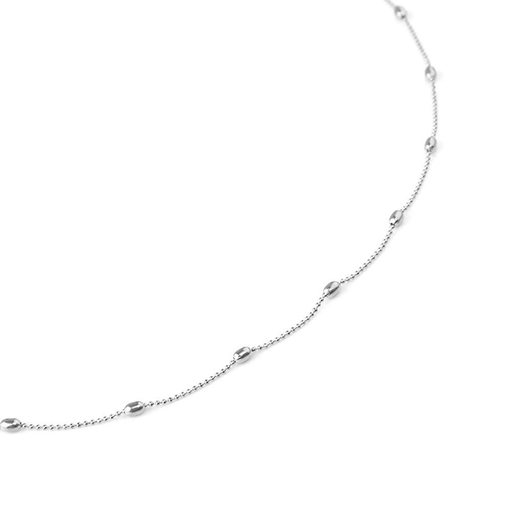 BOOBODA d0347 Beach Waist Chain Sexy Wild Lady Belly Waist Chain Body Necklace(Silver )