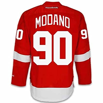 check out 83fa5 4ca7e Amazon.com : Mike Modano Detroit Red Wings Home Jersey by ...