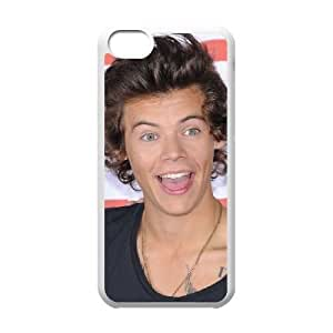 iphone5c White Harry Styles phone cases protectivefashion cell phone cases HYQT5806492