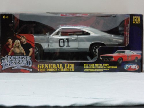 "1969 Dodge Charger ""General Lee"" diecast model car Dukes of Hazzard 1:18 scale die cast by Ertl"