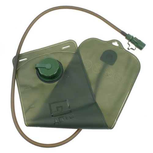niceeshop 3L TPU Bicycle Mouth Water Bladder Bag Hydration Hiking Climbing Military,Army Green