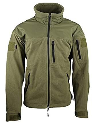 7c91285e577eb Cissbury Cold Weather Heavy Weight Mountain Fleece Jacket, Replica French  army issue Olive: Amazon.co.uk: Clothing