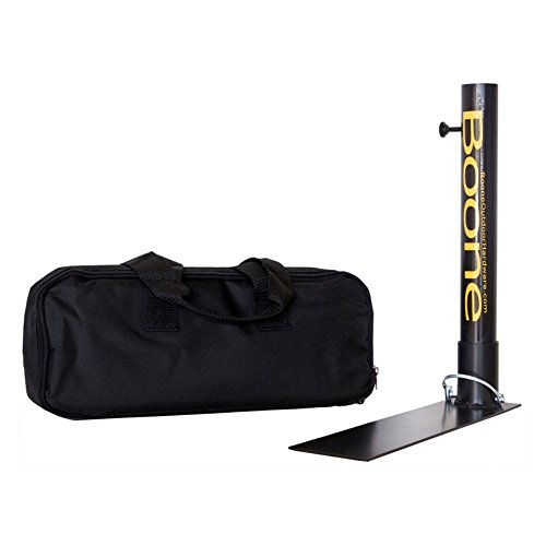 Boone Sports Fan Under da Tire Flag Pole Stand and Case