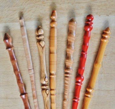 Magic Wand All Wood Handmade