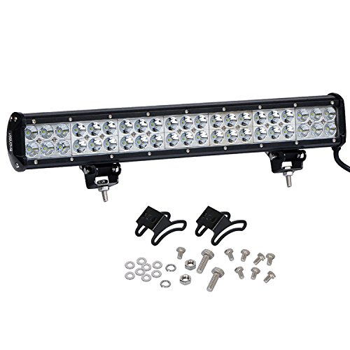 Price comparison product image Surfing Off Road LED Light Bar 20 Inch 126W LED Work Light Spot Flood Combo Lights Driving Fog Lights for Jeeps Truck Motorcycle SUVs ATVs Cars Boats