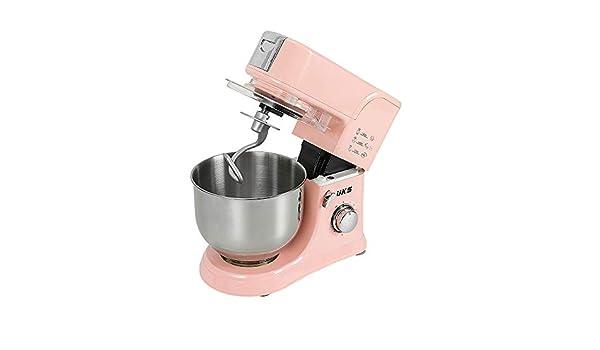 Robot de cocina de 1000 W, robot amasador, de alta potencia, multifunción, práctico, robot de cocina, mezclador amasador, batidor eléctrico, 8 velocidades con cuenco 5,5 l.: Amazon.es: Hogar