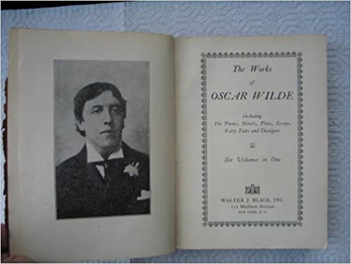 The Works Of Oscar Wilde Including The Poems Novels Plays