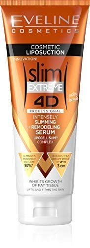 Eveline Slim Extreme 4D Liposuction Body Serum, 8.45 Fluid Ounce