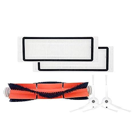 Laduup - Accesorios para Robot Aspirador Xiaomi (5 Piezas) 1 Cepillo ...