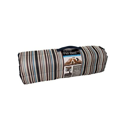 high-quality Kole KI-OD371 Soft Durable Roll Up Travel Pet Bed with Carry Handle, One Size