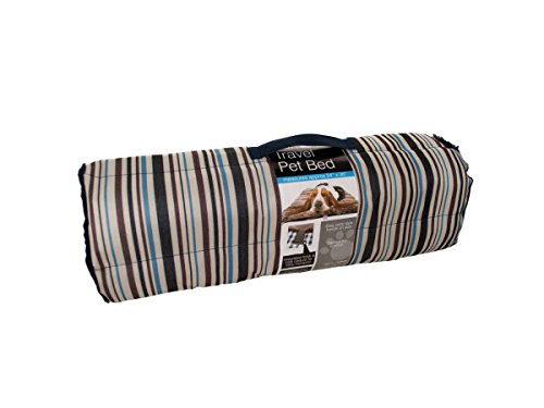 Kole KI-OD371 Soft Durable Roll Up Travel Pet Bed with Carry Handle, One Size