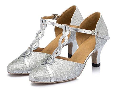 6cm Joymod Moderno MGM Jazz e Silver Heel Donna HATPRYqw