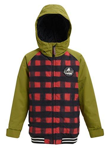 Burton Boys' Game Day Jacket, Spray Buffalo/Olive Branch, Large (Burton Red Ski Helmet)