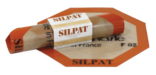 Silpat Non-Stick Silicone Microwave Baking Mat, 10.25