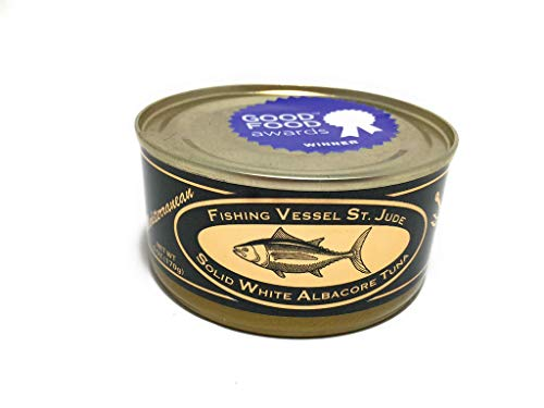 Fishing Vessel St Jude, Tuna Albacore White Mediterranean Solid, 6 Ounce