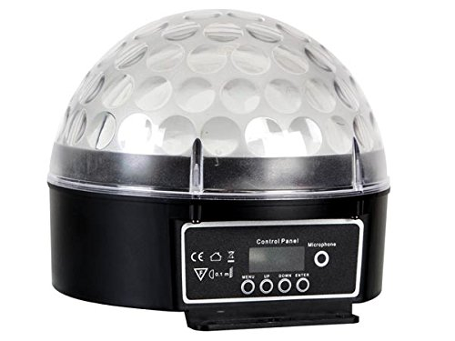 HQ-Power 636153 LED Zircon, LED-Effekt, Dmx-Gesteuert, 6 x 3W VS Electronic Vertriebs GmbH VDPL300CB