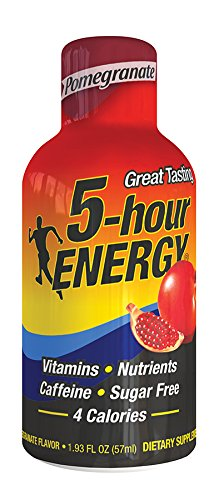 (5 Hour Energy Energy Shots, Pomegranate, 12 pk)