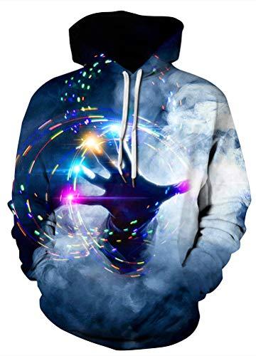 - Azuki Men's/Women's Patterns Print Athletic Sweaters Fashion Hoodies Sweatshirts M