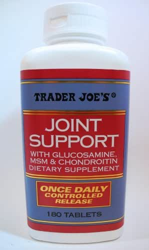 Trader Joe's Joint Support With Glucosamine, MSM & Chondroitin Dietary Supplement