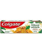 Gel Dental Colgate Natural Extracts Cúrcuma 90g