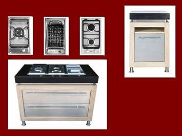 Geräte Für Außenküche : Außenküche outdoor küche gartenküche mit betonarbeitsplatte in