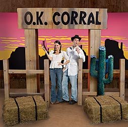 OK Corral and Sign