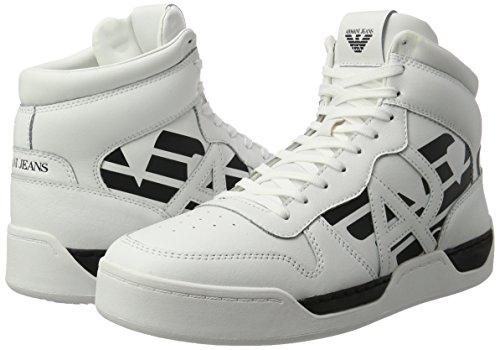 Sneaker Uomo Alto Armani Bianco Bianco
