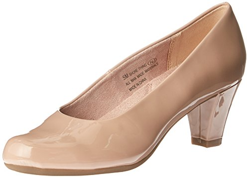 ore Thing Dress Pump, Nude Patent, 7 M US ()