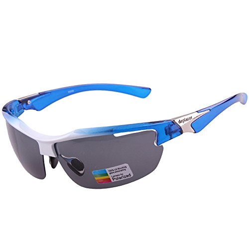 Vitalite Bicycle Cycling Glasses with 5 Interchangable Lens for Outdoor Sports Running Driving by Vitalite