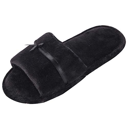 House Women Black Gohom Slip Flip Spa Shoes Indoor Thong Fops Slippers Anti PYwqd67w